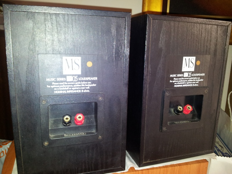 Mordaunt Short MS05 Speakers Ms311