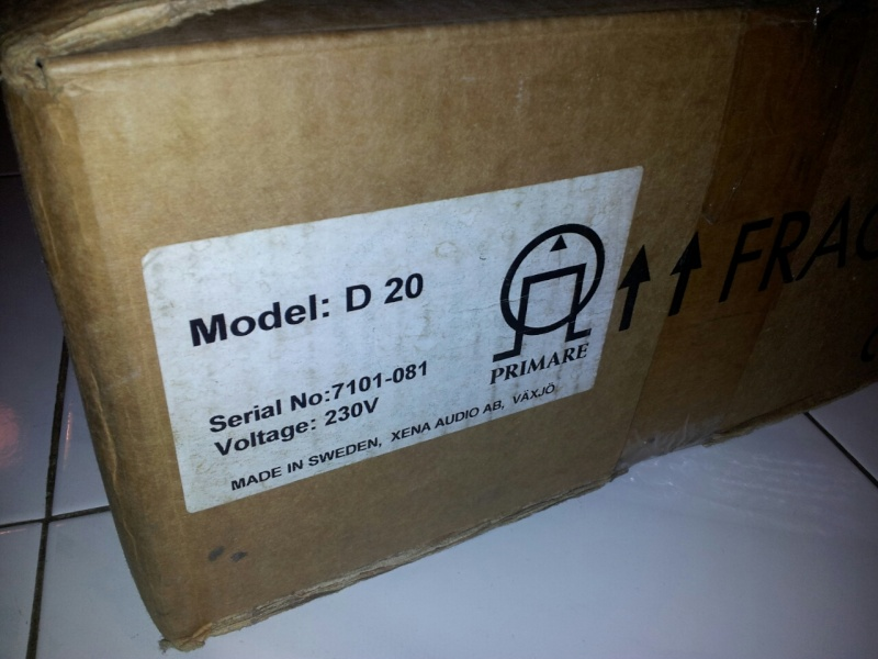 Primare D20 CD Player (Used) Primar11