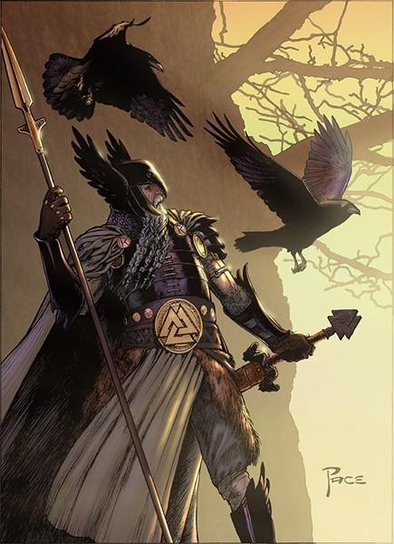 Les Aesir Odin10