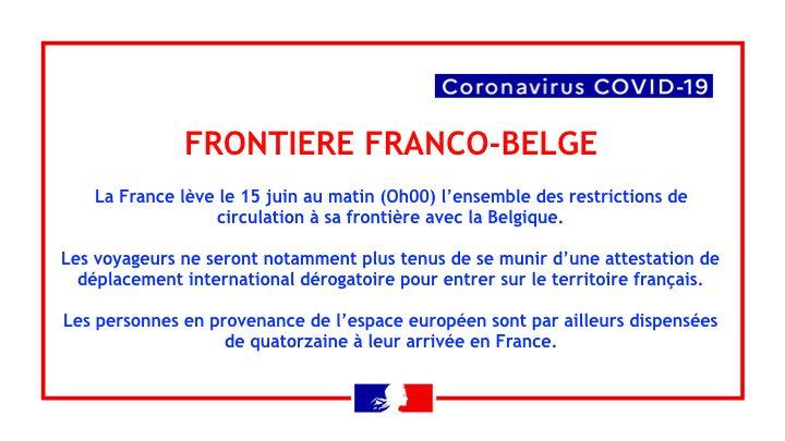"""La France à nouveau accessible au Européens """"Schengen"""" 10405510"""