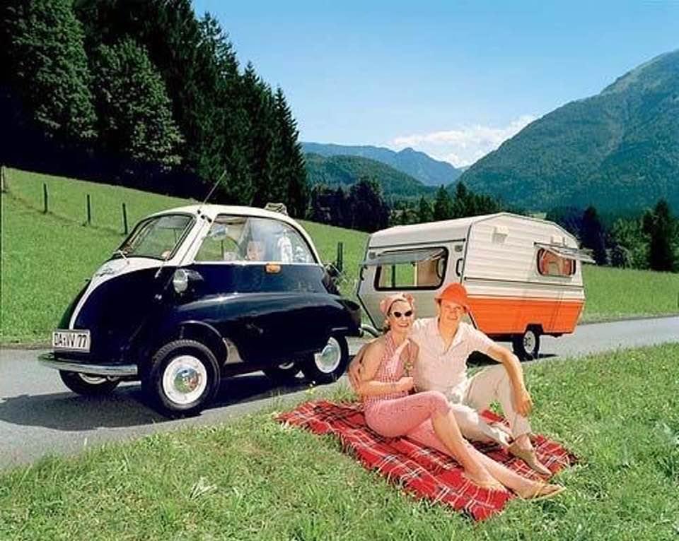 Les jolies vacances nomades des années 50 12010610