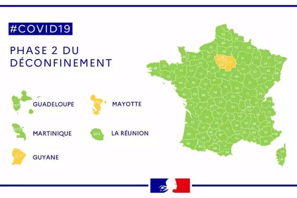 Carte des départements (verts/oranges/rouges) 16011210
