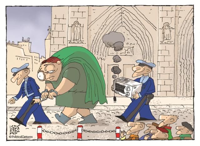 Notre Dame: on connait le coupable 22451511