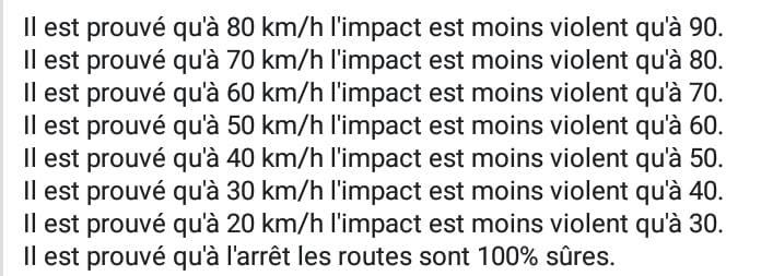 Le 80km/h pour les nuls 36375510