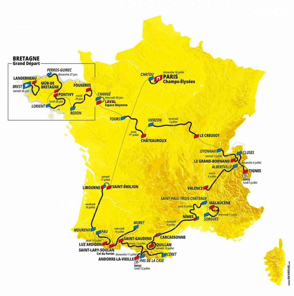 Parcours du Tour de France 2021 69f2110