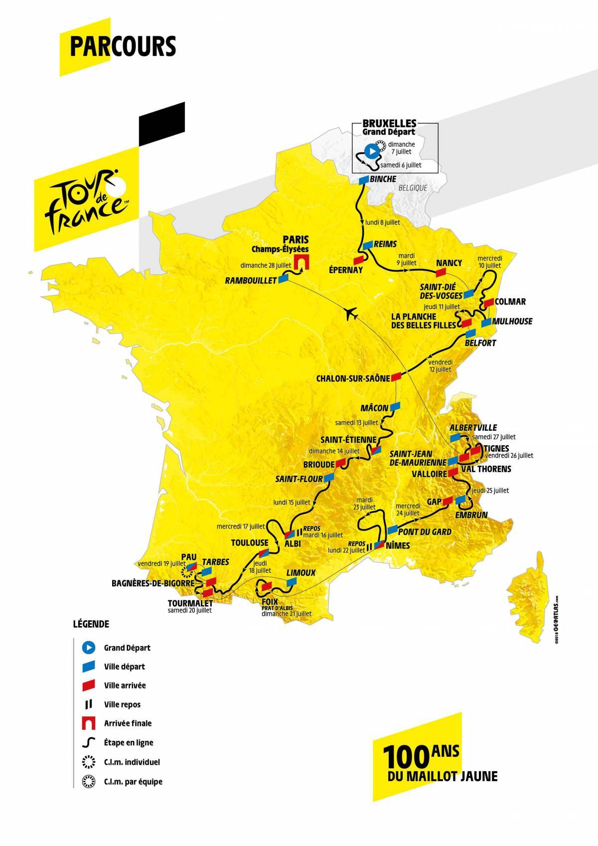 Parcours du Tour de France 2019 A4acb10