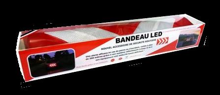 Bandeau de sécurité LED: un accessoire qui devrait accompagner tout campng-car Bandea10