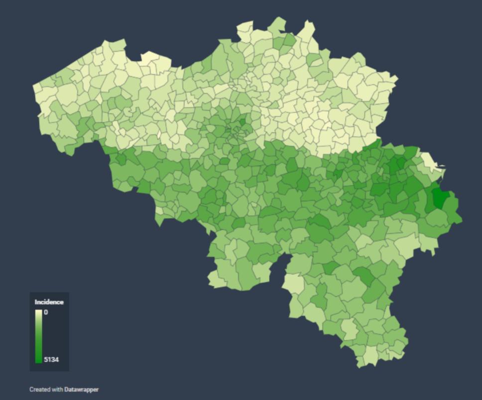 France: carte des départements suivant leur couleur (SPF Affaires Etrangères belge) - Page 2 Cartec11