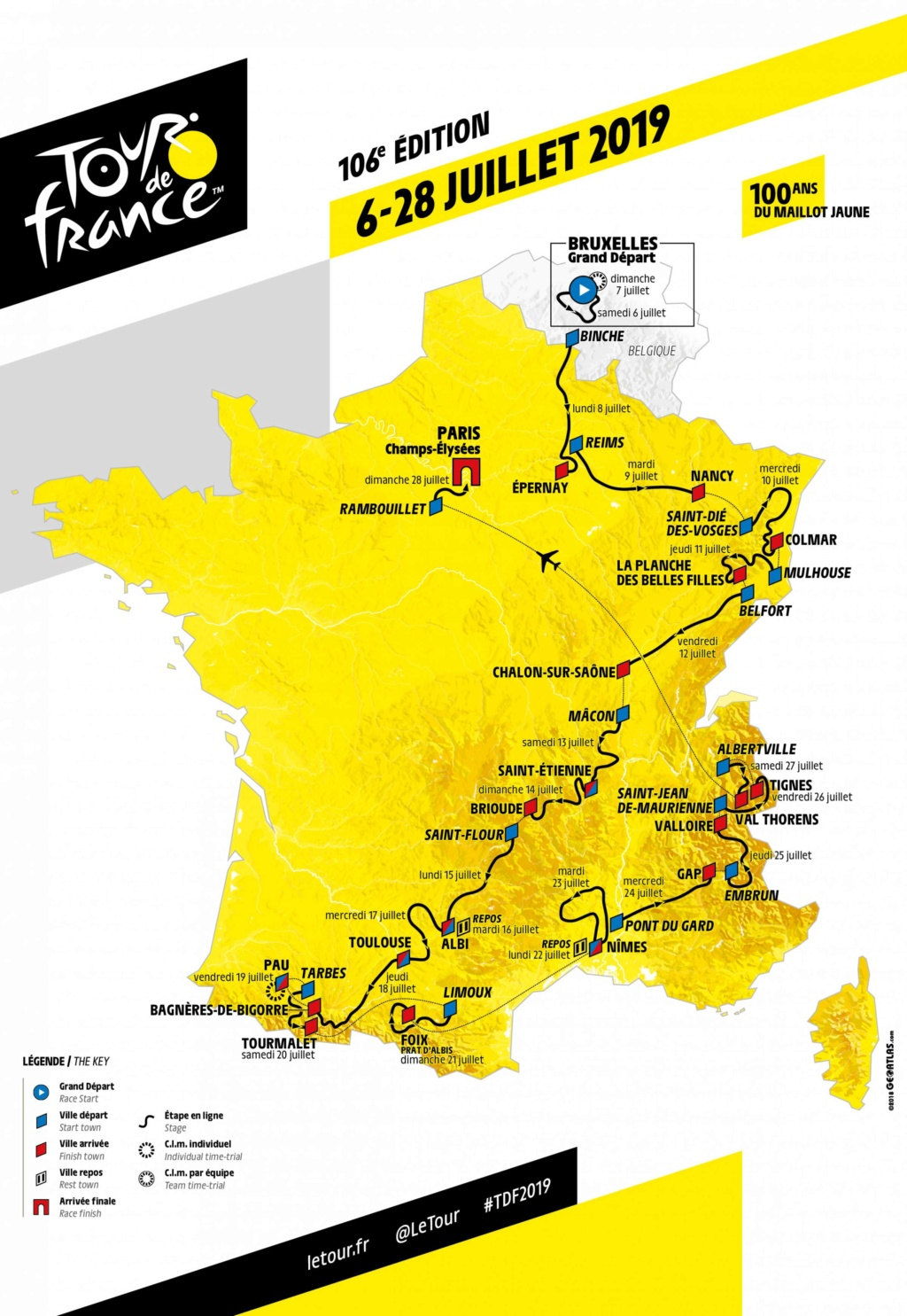 2019: le Tour prend de l'altitude Ed57610