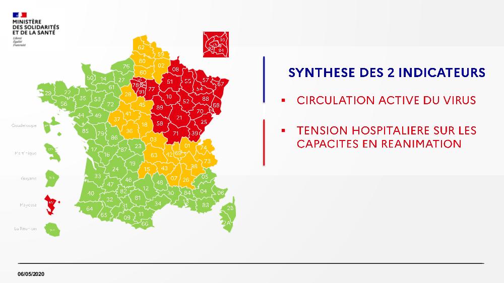 Carte des départements (verts/oranges/rouges) Exwmsm10