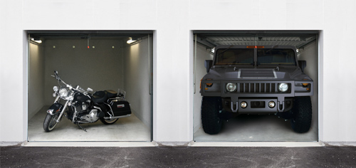 Porte de garage personnalisée Garage12