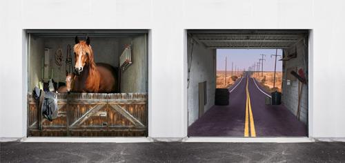 Porte de garage personnalisée Garage13