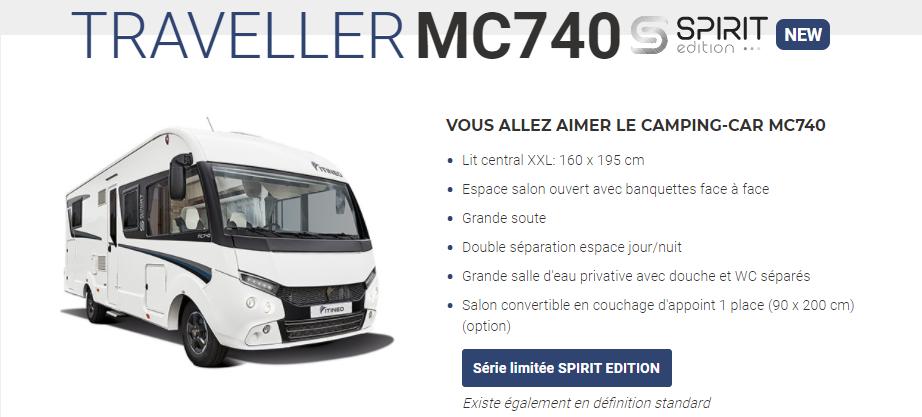ITINEO MC740 2021 (NEW) en détail Mc740d10