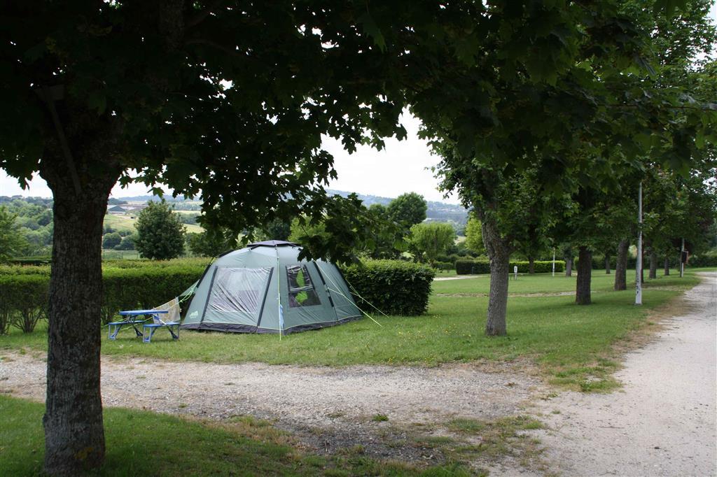 """Saint-Flour - Camping """"les Orgues"""" Stflou12"""