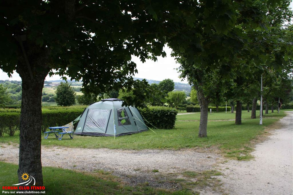 """Saint-Flour - Camping """"les Orgues"""" ✿✿ Stflou15"""