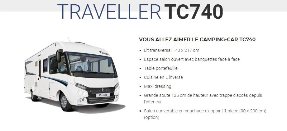 ITINEO TC740 2021 en détail Tc740d10