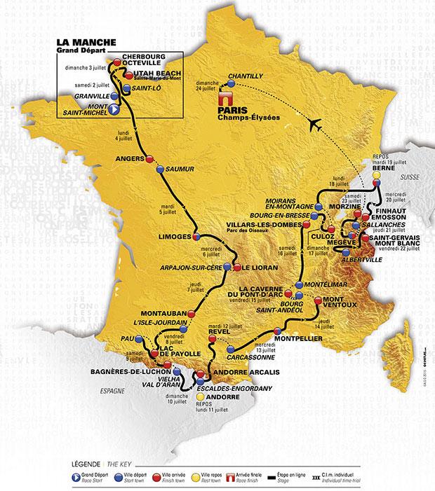 Parcours du Tour de France 2019 Tour-d10