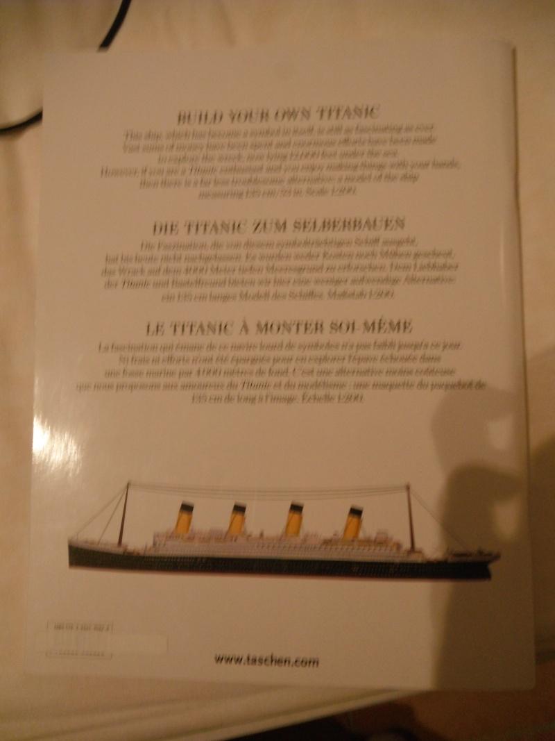 Titanic 1/200 en carton , Taschen Dscf6066