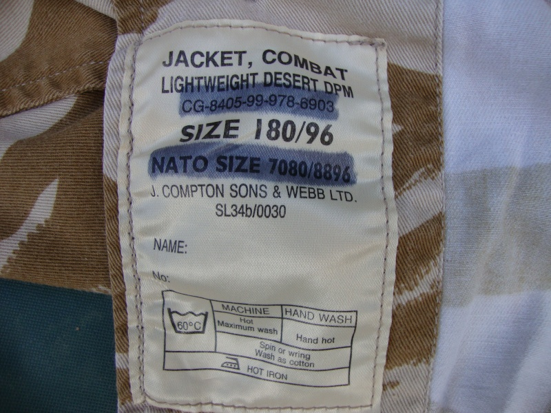 British Jacket lightweight-Gulf War. - Page 4 Dsc07514