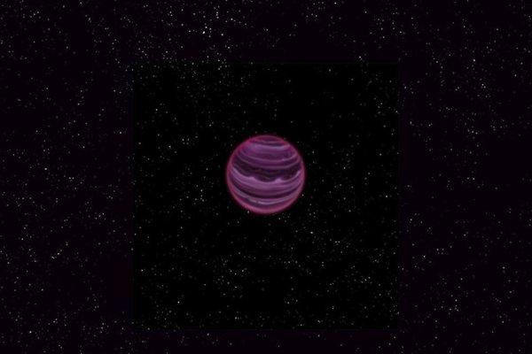 l'exoplanète orpheline, qui n'orbite autour d'aucune étoile  Eij11m10