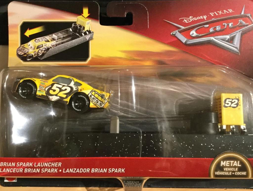 Lanceur Cars 3  Brian Spark Floyd Mulvihill chez Wood Toys.fr Img_1220