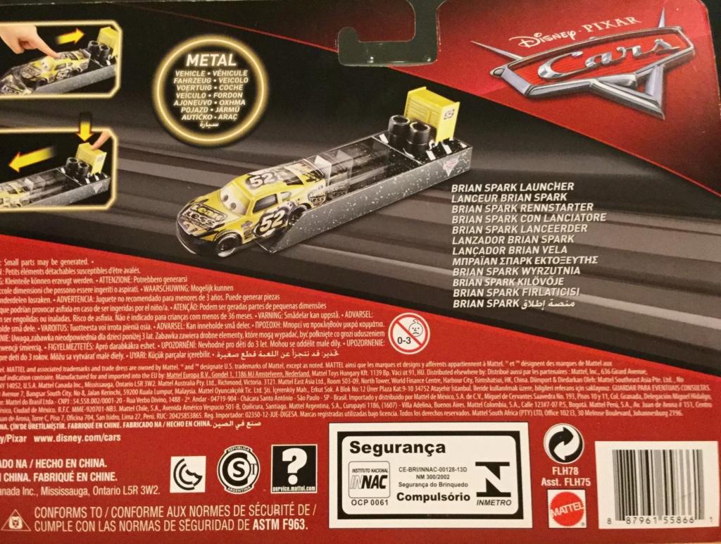 Lanceur Cars 3  Brian Spark Floyd Mulvihill chez Wood Toys.fr Img_1221