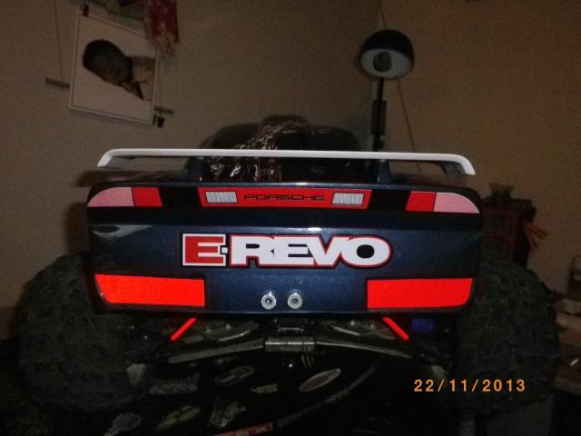 adapter caro 1/8 porche sur e-revo 13210