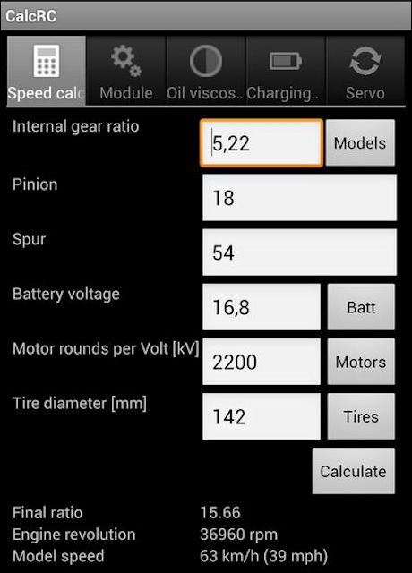 Applications Smartphones/mobile/PC pour RC/Modelisme Calc RC Captur14