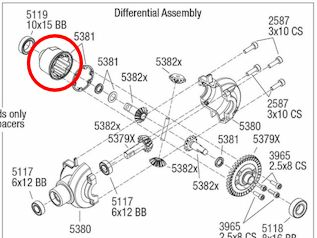 Différences entre E-Revo Brushed TRA5603 et E-Revo Brushless TRA5608 - Page 3 Image160