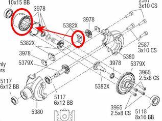 Différences entre E-Revo Brushed TRA5603 et E-Revo Brushless TRA5608 - Page 3 Image161
