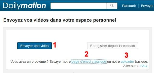 [Résolu]Problème envoi vidéos sur Dailymotion Image281