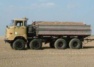 Truck 8x8x4, Taganay Ifa-w-10