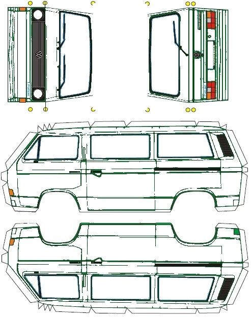 VW T3 Doka Syncro  T3_bas10