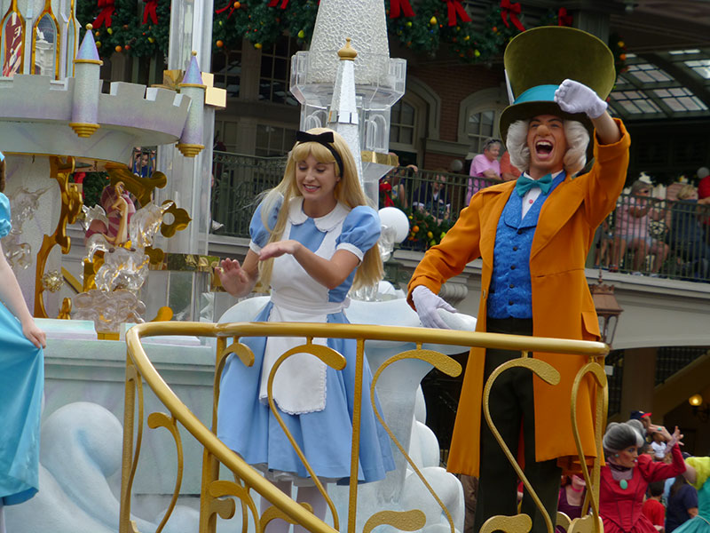 La magie de WDW a Noël - Page 2 Parade24