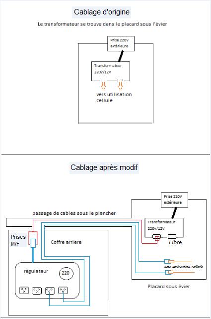 Installation d'un régulateur de tension Cablag13