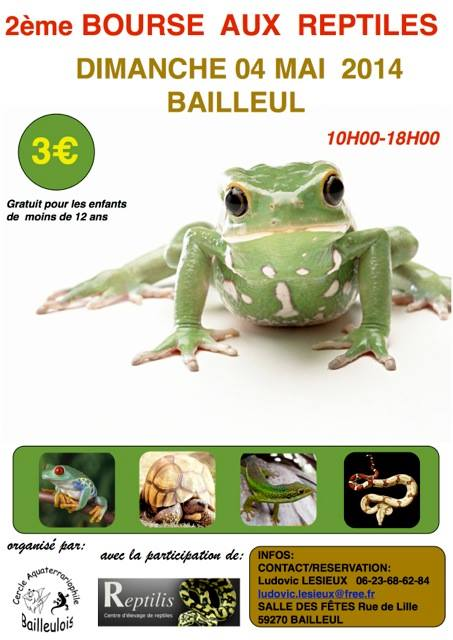 2ème Bourse Aux Reptiles BAILLEUL Dimanche 4 mai 2014 10120510