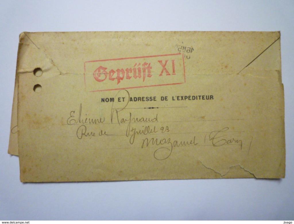 Cachet de censure  « Geprüft XI »  ABP  Berlin 007_0011