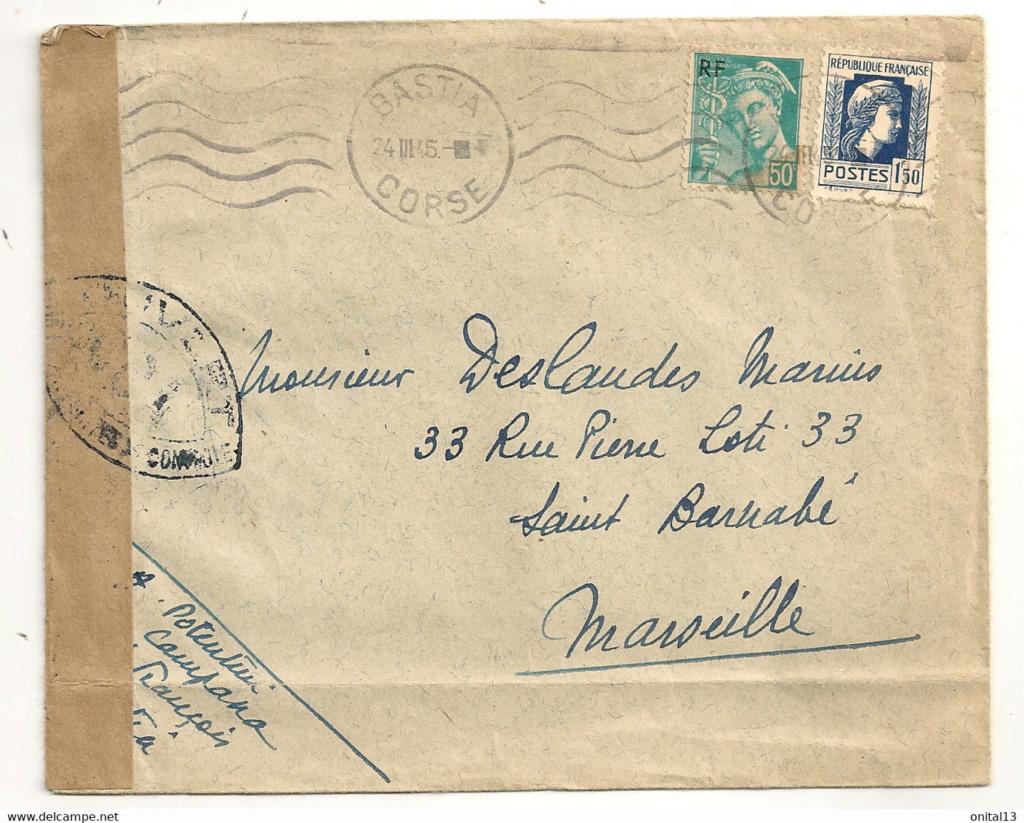 COA période Libération : Corse? 1945_c13