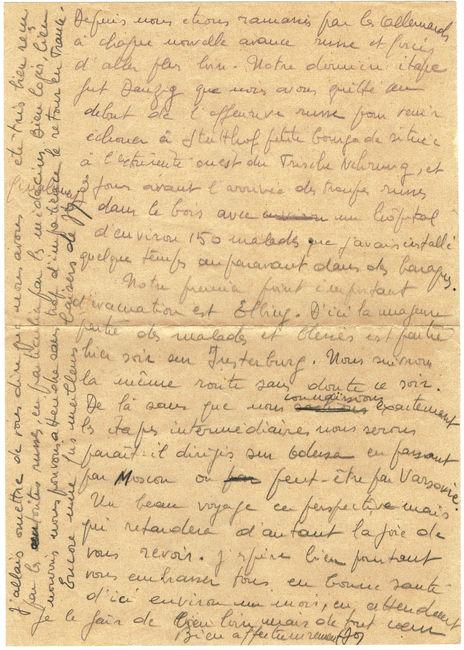 1945 lettre d'Elbing en FM 1945_s10