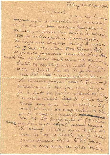 1945 lettre d'Elbing en FM 1945_s11