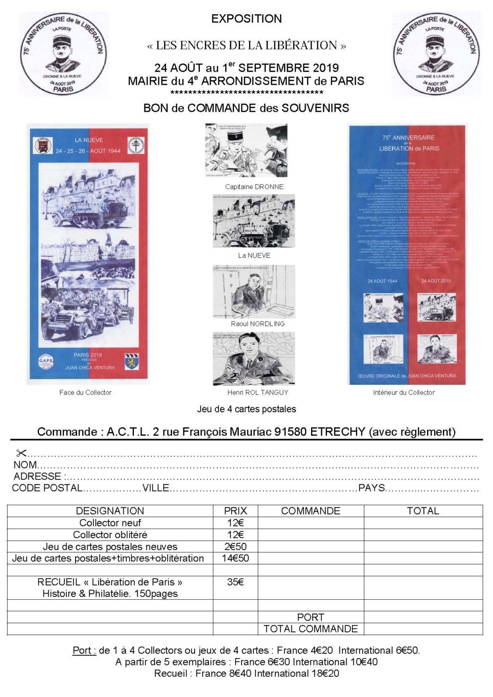 Bon de commande collector ACTL Libération de Paris Bon_de10