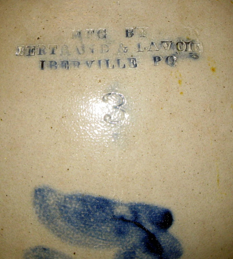 cruche bertrand & lavoie iberville pq  Img_6610