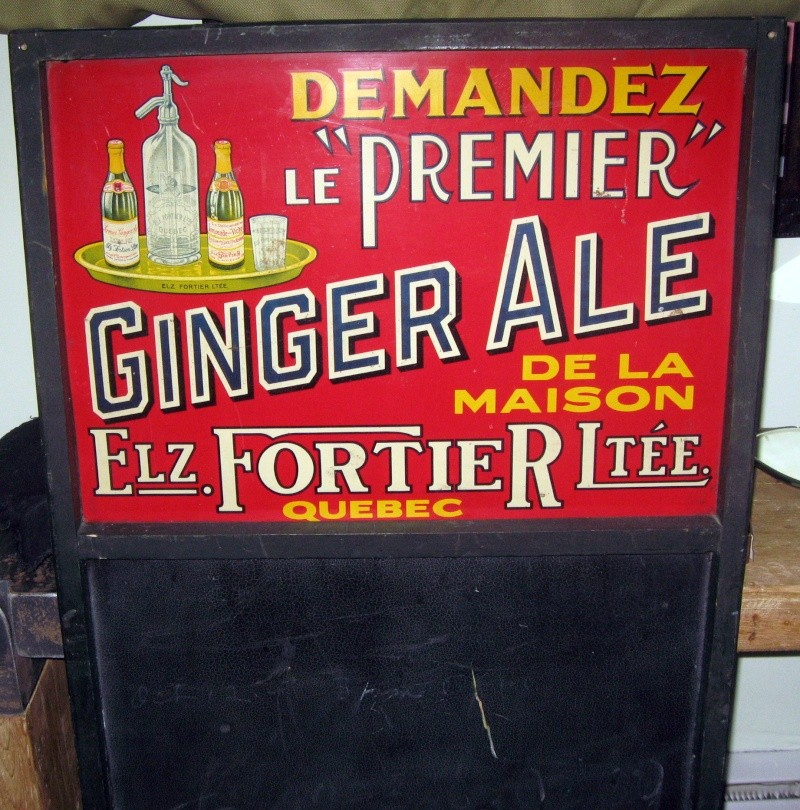 tableau tres rare elzear fortier  ginger ale  Img_6710