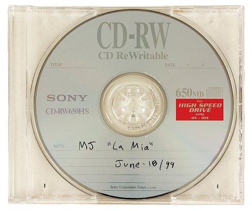 Un mystérieux CD d'une composition musicale personnelle de Michael Jackson en vente aux enchères Lamia10