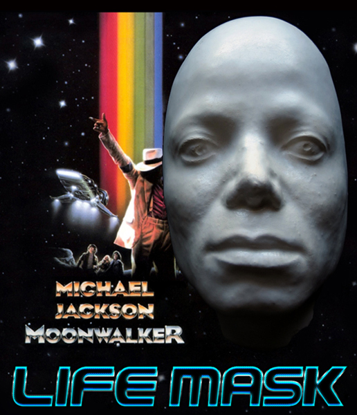 """Original"" Michael Jackson Life Mask Used During the Production of ""Moonwalker"" Mj_moo10"