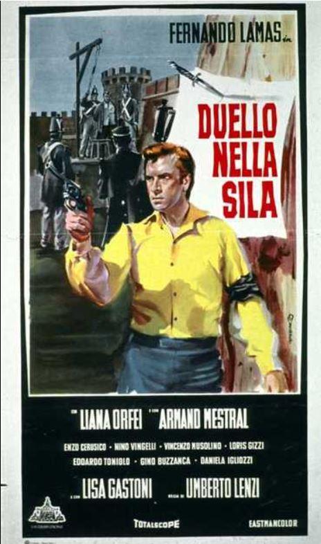 Seul contre 7 - Duello nella Sila ( Inédit ) - 1962 - Umberto LENZI Affich12