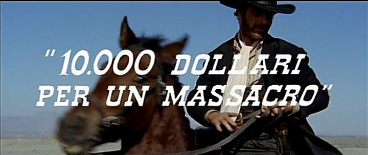 Le Temps des Vautours - 10 000 Dollari per un Massacro - Romolo Guerrieri - 1967 Captur29
