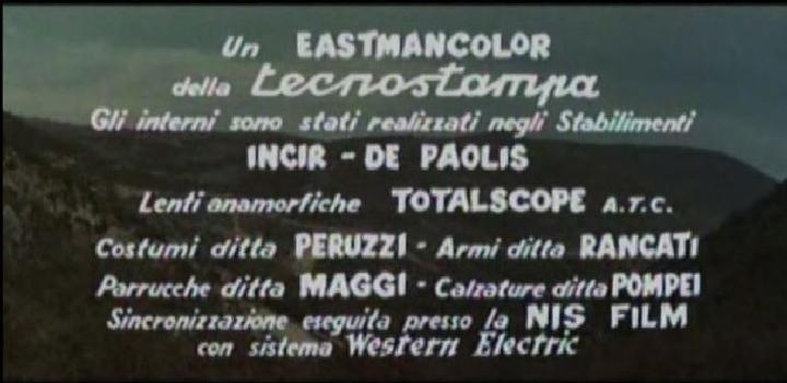 Seul contre 7 - Duello nella Sila ( Inédit ) - 1962 - Umberto LENZI Gene11