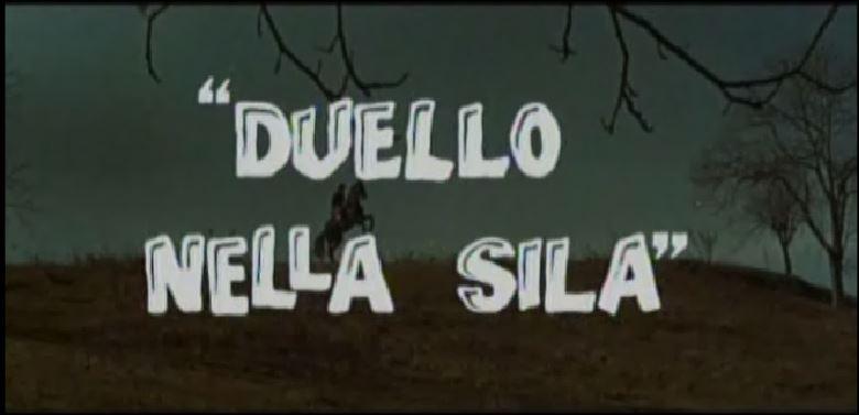 Seul contre 7 - Duello nella Sila ( Inédit ) - 1962 - Umberto LENZI Titre12