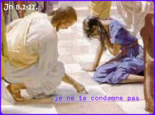 """5ème semaine de Carême  """"Bonne Nouvelle de Jésus Christ Paroles/méditations/Prières"""" Condam10"""